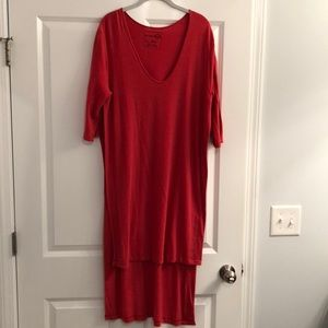 Free People high slit tunic